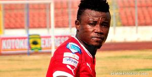 Midfielder Jackson Owusu