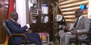Godfred Dame   Paul Adom Otchere