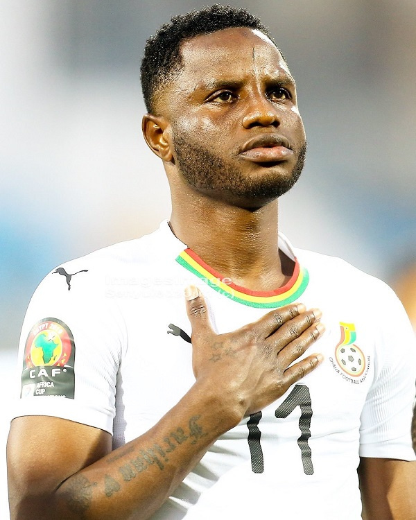 AFCON Qualifiers: Wakaso others leave Ghana camp
