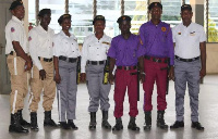 All private security personnel are required to be trained by the Police before being checked out