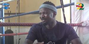 Ghanaian boxer, Joseph Agbeko