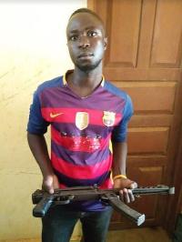 Suspect Mensah Lare