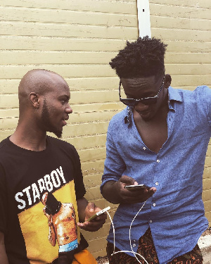 King Promise and Mr Eazi