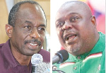 Johnson Asiedu Nketia and Koku Anyidoho