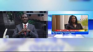 Dr Yaw Osei Adutwum and Prof Naana Jane Opoku-Agyemang