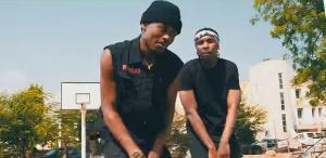 Tamale-based rapper Maccasio and Mugeez