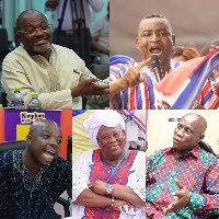 Leading members of the New Patriotic Party