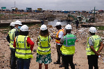 The team was led to the Accra Sewerage Systems Ltd