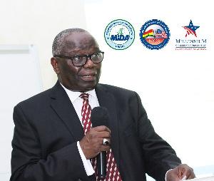 Mr Martin Eson-Benjamin, Chief Executive of MiDA