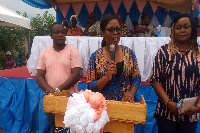 NDC Parliamentary hopeful, Lawyer Benedicta Lasi Koryo