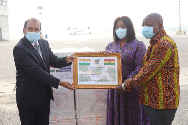 Coronavirus Vaccines: Ghana receives 50,000 more doses from India