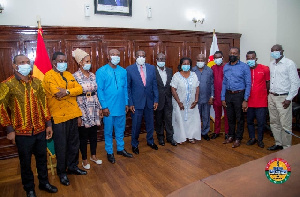Coalition Of Former Menzgold Customers Meet Speaker Of Parliament, Alban Bagbin