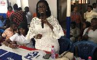 Ursula Owusu-Ekuful, MP for Ablekuma West