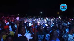 A section of the crowd at Kasaval 2018