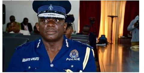 Newly appointed IGP, David Asante-Apeatu
