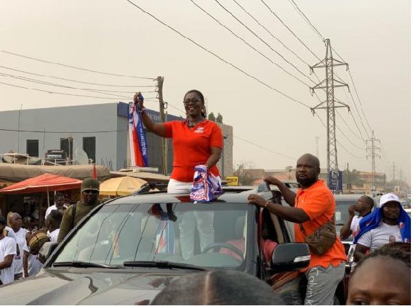 Ursula Owusu-Ekuful relishes victory