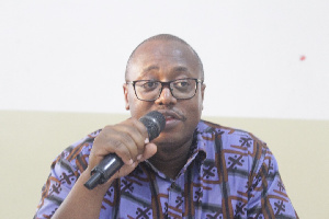 Director of Advocacy and Programmes at CDD-Ghana, Dr Kojo Pumpuni Asante