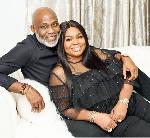 Nigerian Actor Richard Mofe-Damijo and his wife