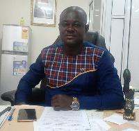 Dr Fred Obeng Owusu, MCE of Old Tafo