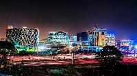 An image of part of Accra Ghana