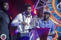 Kofi Kinaata at 2017 Vodafone Ghana Music awards