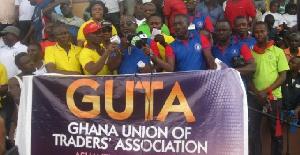 File photo of GUTA members demonstrating