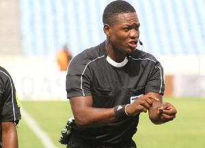 Daniel Laryea will handle the big match on Sunday