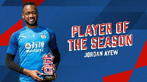 Jordan Ayew pulled 37% votes from fans