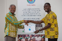 Some of the successful candidates received free certificates from the World Health Organization