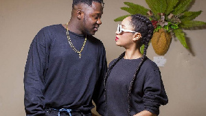 Here's why Sister Derby performed with Medikal at Welcome to Sowutuom Concert