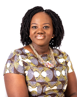 Miriam Maku Amissah is Head of Sales and Client Service