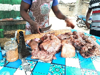 Pork prices are up in the Navrongo