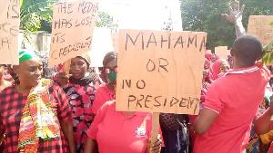 NDC Protestors