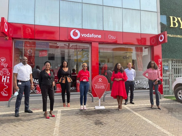 Vodafone unveils ultra - modern retail shop in Osu