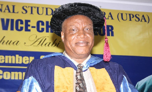 Former Vice Chancellor for the University of Professional Studies, Professor Joshua Alabi