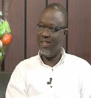 Deputy Sports Minister Vincent Oppong Asamoah