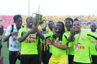 Celebrating triumph over Black Stars