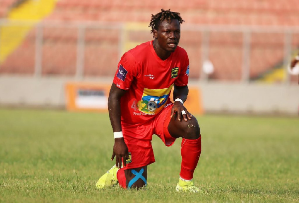 Asante Kotoko part ways with striker Richard Arthur