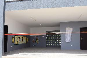 The Ultramodern 2 classroom kindergarten block was to the St. Killian Catholic School in Senya