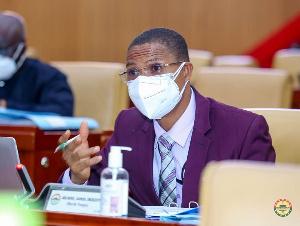 Member of Parliament for Madina Constituency, Lawyer Francis-Xavier Kojo Sosu