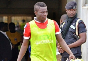 Accra Hearts of Oak S.C defender Christopher Bonney