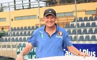 WAFA coach John Killa