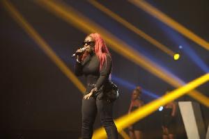Eno Barony performed yesterday at the Vodafone Ghana Music Awards