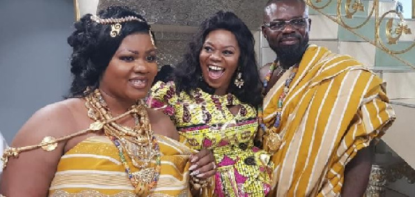 Gospel musician, Obaapa Christy with new husband