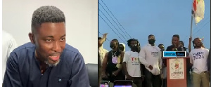 Social Commentator and founder of TTP, Kwame Asare Obeng, aka A Plus