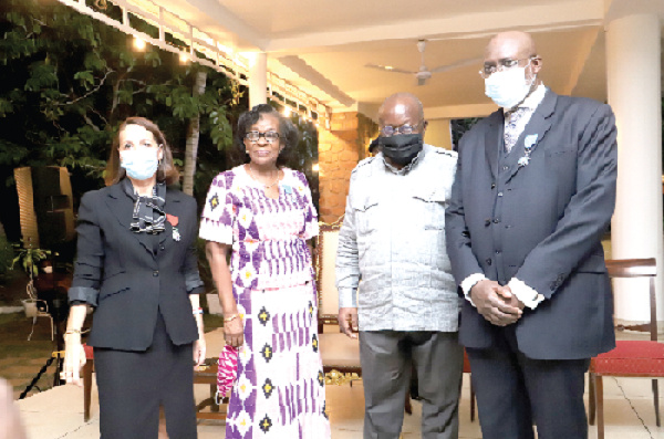 French govt confers National Order awards on two Ghanaians