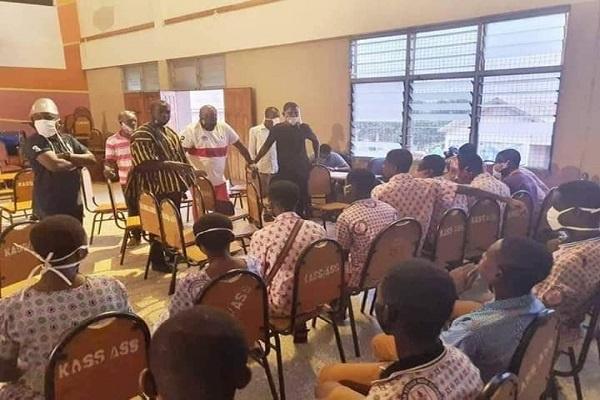 Nana B's school visit 'unacceptable' - Adutwum