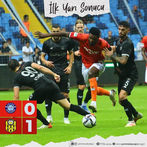 Benjamin Tetteh hits target for Yeni Malatyaspor on return from Ghana duty