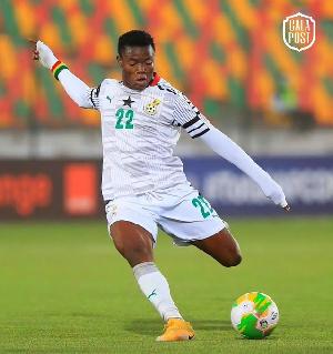 Ghana international Abdul Fatawu Issahaku