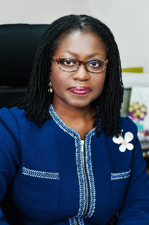 Elsie Addo Awadzi is the Second Deputy Governor of Bank of Ghana